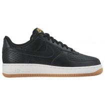 Nike Air Force 1 '07 Low Premium Femmes chaussures noir/blanc KGD934