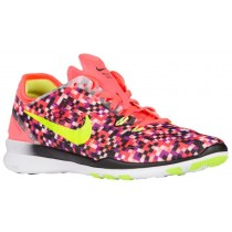 Nike Free 5.0 TR Fit 5 Femmes chaussures Orange/noir KTW038