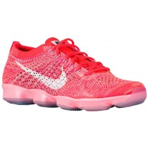 Nike Flyknit Zoom Agility Femmes chaussures rouge/vert clair YWO537