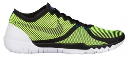 Nike Free Trainer 3.0 V4 Hommes chaussures de course noir/vert clair UGN931