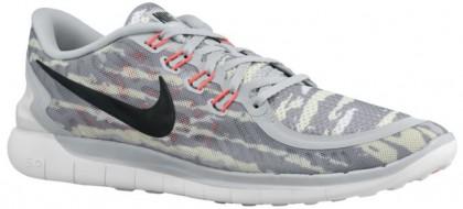 Nike Free 5.0 2015 Print Hommes baskets gris/rouge CTE630
