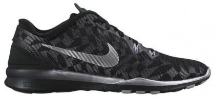 Nike Free 5.0 TR Fit 5 Femmes sneakers noir/argenté WPS943