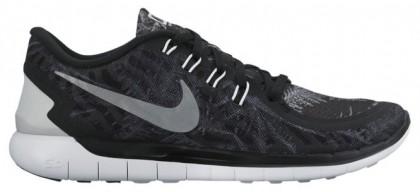 Nike Free 5.0 2015 Femmes chaussures de course noir/gris HIL575