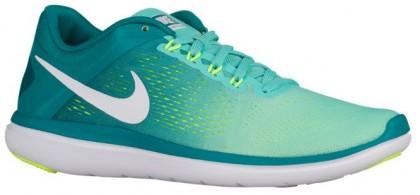 Nike Flex 2016 RN Femmes chaussures de course vert clair/vert clair VJN529