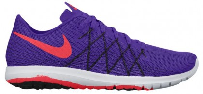 Nike Flex Fury 2 Femmes baskets violet/rouge YGI373