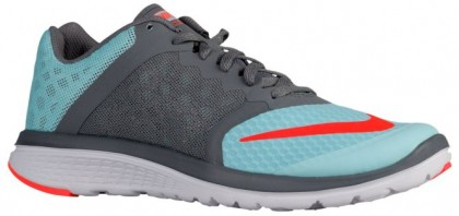 Nike FS Lite Run 3 Femmes chaussures de course bleu clair/gris WQF038