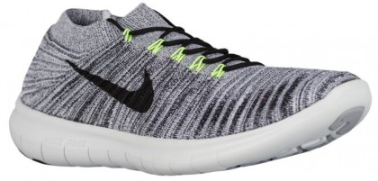 Nike Free RN Motion Hommes chaussures de sport blanc/noir INJ975