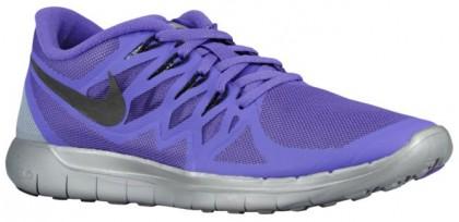 Nike Free 5.0 2014 Flash Femmes chaussures de course violet/argenté DNI210