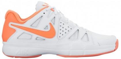 Nike Air Vapor Advantage Femmes baskets blanc/Orange THD904