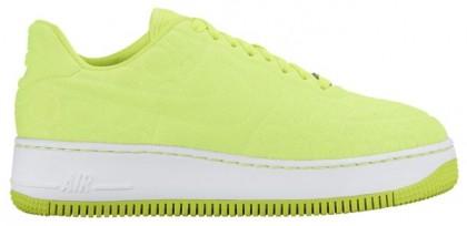 Nike Air Force 1 Low Femmes chaussures de sport vert clair/blanc IOL442
