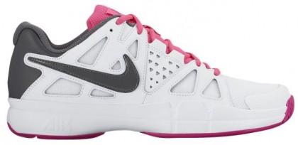 Nike Air Vapor Advantage Femmes chaussures blanc/rose GZK255