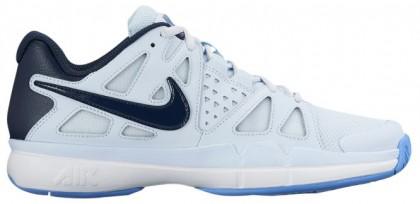 Nike Air Vapor Advantage Femmes sneakers blanc/bleu marin MJM441