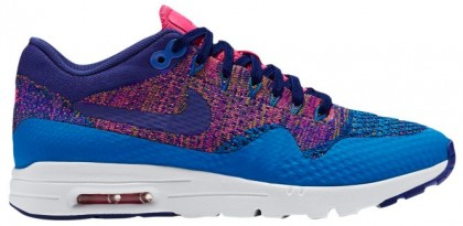 Nike Air Max 1 Ultra FlyknitFemmes sneakers bleu clair/bleu RGN446