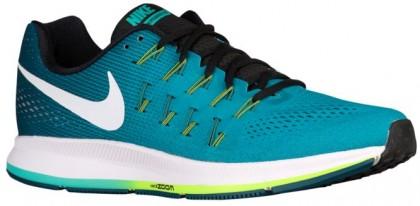 Nike Air Zoom Pegasus 33 Hommes baskets vert clair/blanc REW488