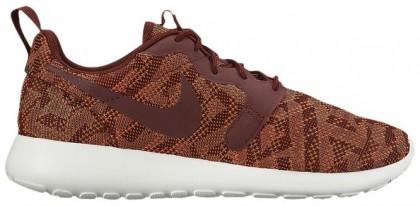 Nike Roshe One Jacquard Femmes chaussures bronzage/marron ZYP238