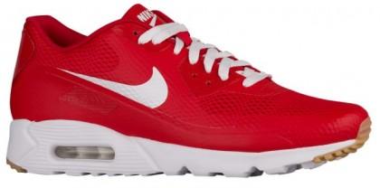 Nike Air Max 90 Ultra Essential Hommes chaussures de course rouge/blanc CKN118
