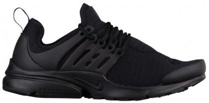 Nike Air Presto Femmes chaussures de course Tout noir/noir AUY736
