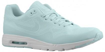 Nike Air Max 1 Ultra Moire Femmes sneakers bleu clair/blanc OYX943