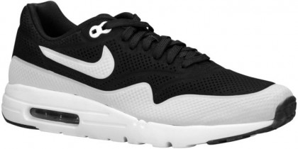 Nike Air Max 1 Ultra MoireHommes baskets noir/blanc XVV640