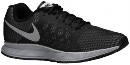 Nike Air Pegasus 31 Flash Hommes sneakers noir/argenté HLA456