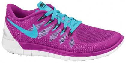 Nike Free 5.0 2014 Femmes chaussures violet/bleu clair EGU768