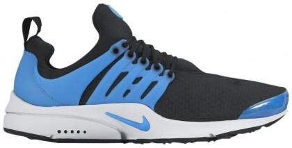 Nike Air Presto Essential Hommes chaussures de course noir/bleu clair NQU880