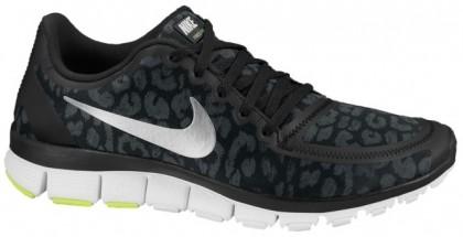 Nike Free 5.0 V4 Femmes sneakers noir/gris UUK337