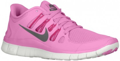 Nike Free 5.0+ Femmes chaussures de course rose/rouge ZCD339