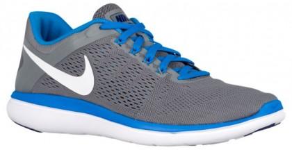Nike Flex RN 2016 Hommes baskets gris/bleu clair LNG339