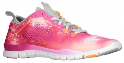 Nike Free 5.0 TR Fit 4 Femmes sneakers blanc/rose CGM363
