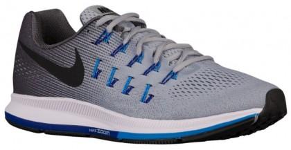 Nike Air Zoom Pegasus 33 Hommes chaussures de course gris/bleu clair JIU706