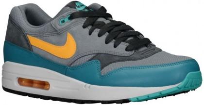 Nike Air Max 1 Essential Hommes chaussures gris/vert clair JKK083