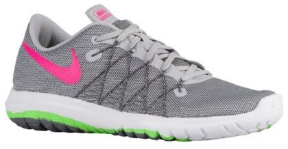 Nike Flex Fury 2 Femmes chaussures de course gris/vert clair BGZ046