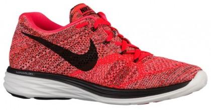 Nike Flyknit Lunar 3 Hommes chaussures Orange/noir WQD592