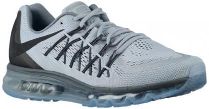 Nike Air Max 2015 Hommes chaussures de course gris/noir ECR611