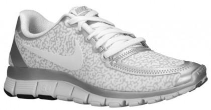 Nike Free 5.0 V4 Femmes baskets blanc/argenté MPW158