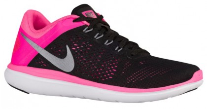 Nike Flex 2016 RN Femmes baskets noir/rose QJP222