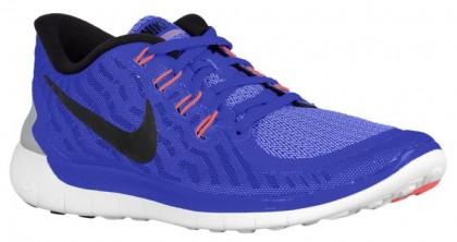 Nike Free 5.0 2015 Femmes chaussures de sport bleu/blanc QVS230
