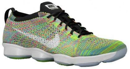 Nike Flyknit Zoom Agility Femmes sneakers noir/vert clair MSX128