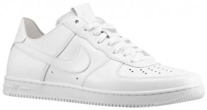 Nike Air Force 1 Light Low Femmes baskets Tout blanc/blanc SMN345
