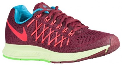 Nike Air Zoom Pegasus 32 Femmes chaussures bordeaux/rouge HFI491
