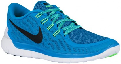Nike Free 5.0 2015 Femmes sneakers bleu clair/vert clair UJD030