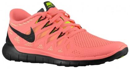 Nike Free 5.0 2014 Femmes chaussures de course rose/noir FVS926
