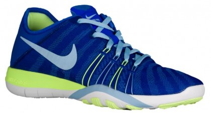 Nike Free TR 6 Femmes baskets bleu/vert clair XFV767