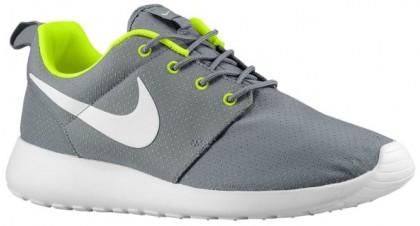 Nike Roshe One Hommes chaussures de course noir/vert clair IWK220