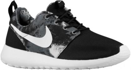 Nike Roshe One Print Femmes sneakers noir/gris RBR478