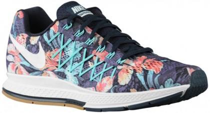Nike Air Zoom Pegasus 32 Hommes chaussures de sport bleu marin/blanc HCN835