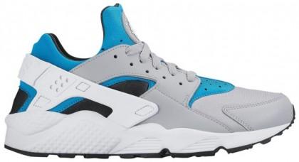 Nike Air Huarache Hommes baskets gris/blanc EGW564
