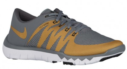 Nike Free Trainer 5.0 V6 Hommes sneakers gris/or YDL669