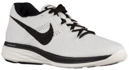 Nike Flyknit Lunar 3 Hommes baskets blanc/noir GNP191